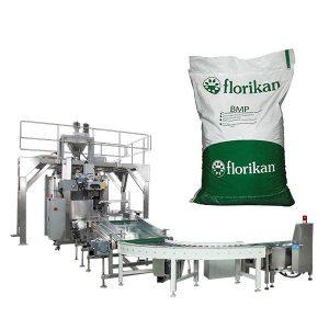 Máquina automática de envasado a granel para po de leite en bolsas de 10 kg de 25 kg