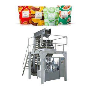 Máquina de envasado automática de recheo para bolsa de zíper