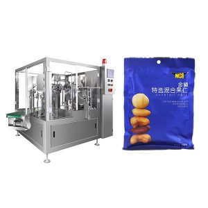 Máquina de envasado automática de recheo de recheo para po sólido ou sólido
