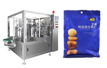pre-made bag food gránulos de recheo de selado máquina de envasado