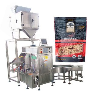 Máquina automática de recheo e selado para po de café