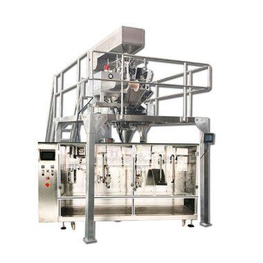 máquina de envasado granular horizontal automática pre-feita