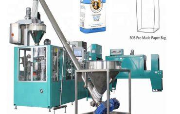 liña de envasado de papel automático para fariña