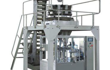 gránulos que pesan a máquina de envasado rotativa