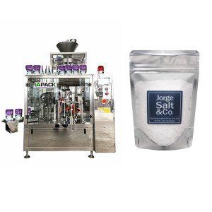 Máquina de envasado automática Rotary Premade Bag para sal