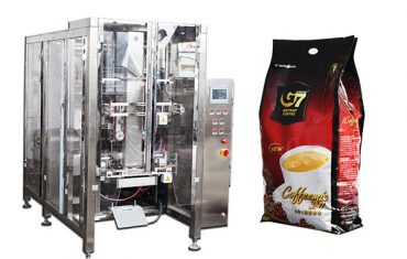 caixa de empaque automática de selado de catro vasos máquina de recheo de tubaxe volumétrica