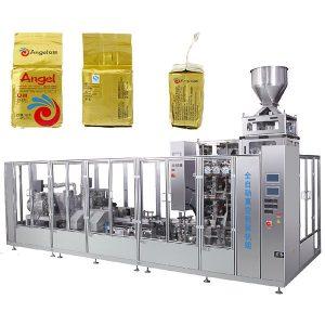 Máquina de envasado de bolsas de ladrillo de baleiro de café