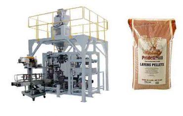 Alimentar gránulos de grans pesados bolsa máquina de envasado