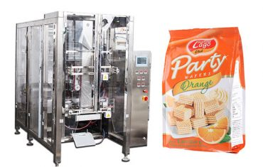 máquina automática de envasado de saco de selado automático de alimentos