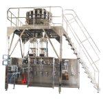 máquina de envasado horizontal pre-feita con pesada multihead