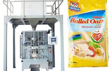 Pesadora lineal de máquina de envasado automático de harina de avena