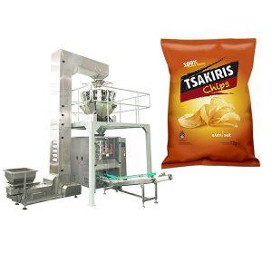 Máquina de envasado de patacas