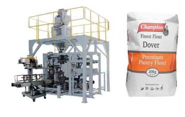máquina de envasado automática para máquina de envasado de harina de 20 kg