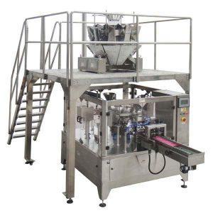 Bolsa de cremallera automática rotativa Bolsa de recheo para xerme de semillas