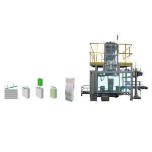 Bolsas de envasado secundario en máquina de envasado de bolsas de poliuretano