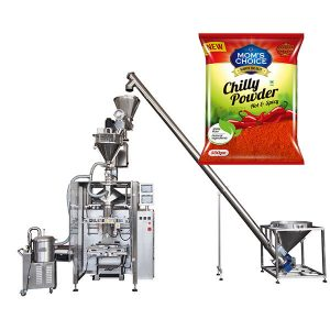 VFFS Bagger Packing Machine con Auger Filler para Paprika e Chilli Food powder