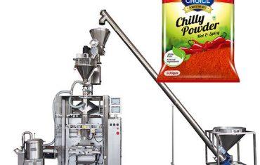 máquina de envasado bagger de vffs con recheo de augas para pemento e pemento de comida de chile