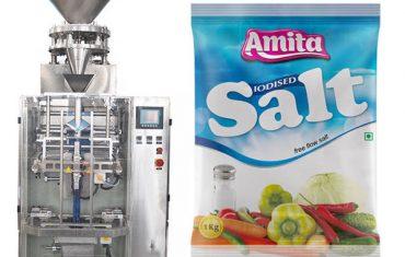 sacola automática vertical bolsa máquina de envasado sal