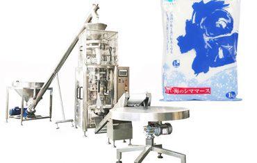 máquina de selado de forma vertical de sal con taza volumétrica